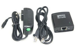 Wholesale USB Network Print Server LPR MFP USB Share Printer over Wired Ethernet Palm