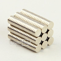 Wholesale 100 mm x mm Disc Neodymium Cylinder Rare Earth Strong Fridge Magnets N35