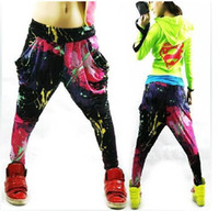 Wholesale 2014 New Brand Jazz Womens Casual Harem Baggy Hip Hop Dance Sport Sweat Pants Slacks