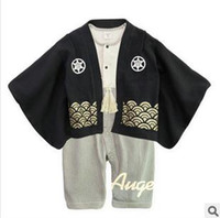 Wholesale Baby One Piece amp Romper Japanese Kimono new Fashion rompers baby boy one piece rompers kid children clothing