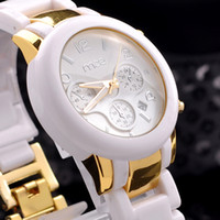 Wholesale New MCE Brand Watch Elegant Imitate Ceramic Fashion Quartz Watches
