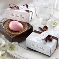 Wholesale Bird Egg Shape soap Organic Falling In Love Wedding Creative Gifts Small Bath Soap