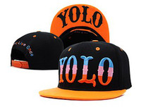 Red Man Spring & Fall YOLO Snapback Hats snapback Caps.Snapbacks Hats.New arrive.Free shipping,high quality