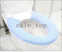 Cheap Various Color Washable Bathroom Soft Toilet Seat Cover Pads HY24198