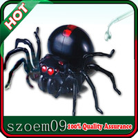 Plastic science kit - Popular Puzzle Science Kid Child Robot Kit Green Energy Sources Salt Water Powered Giant Arachnoid DIY Spider Toy