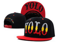 Wholesale YOLO Snapback Hats snapbacks Caps Cheap Snapback Hats Snap backs hat High quality New arrive Hottest seller