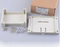 white industrial material - pc Flame resistant abs material industrial control enclosure high quality enclosure115 mm