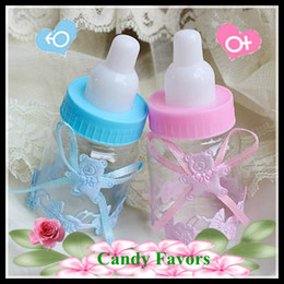 Unique Small Feeding-bottle nursing bottle New Wedding Candy Favors Novelty Wedding Favors Favor holders Wedding Candy package Theme Party