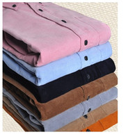 2013 new cultivate one's morality cotton thin shirt corduroy...