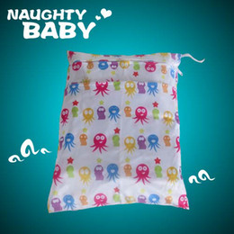 15 pcs 2 zippers diaper bag Waterproof Mummy bag Baby Bath Diapers diaper bag