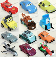 Wholesale LLFA2054 pixar cars figures lightning mcQueen sally mater guido doll model car