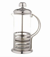 Wholesale Bar method pressure pot french press tea pot stainless steel tea maker coffee pot ml teaports