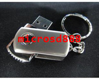 Wholesale 100pcsSpecial offer Creative U disk GB U disk rotating little fat G GU gift U disk USB diskfree dhl