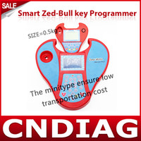Wholesale 2013 Newest Smart Zed Bull car key programmer with Mini type ZedBull Zed Bull NO TOKENS NO LOGIN CARD with fast shipping