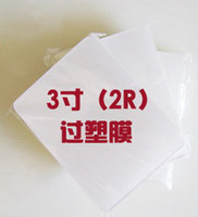 Wholesale R MM film plastic film mic Laminating Laminating film is too thick plastic film