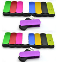 Wholesale hot colorful swivel real GB GB GB GB GB USB Flash memory drive stick pen drive thumb drive pen key