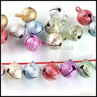 Christmas Tree Ornament decoration jewelry colors - 240pcs Mixed Colors Small Jewelry Bells Findings Christmas Decoration Jingle Bells