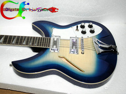 Hot SALE Custom 12 String Electric Guitar Blue Burst 360 12 Electric Guitar Custom Guitar