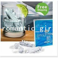 Wholesale CPAM hotsale Unique amp Novelty Titanic Romantic Ice Cube Tray ice mould box