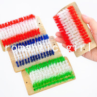 Clothes Foam  High quality bamboo laundry brush multi-purpose board brush cleaning brush clothing shoe brush d304