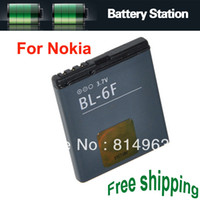 Yes Nokia BL-6F Standard High Capacity 3.7V 1200mah Battery BL-6F BL 6F For Nokia 20pcs lot Free Shipping