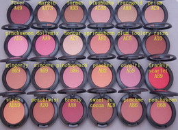 Free Shipping ePacket!24 Pieces Lot Newhot Arrival 6g Powder Blush!24 Colors