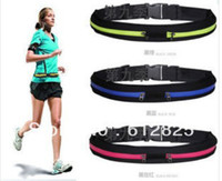Wholesale Outdoor Sports Fitness Belt Purse Case Arm Waist Bag Running Cycling Jogging Wallet Pouch Fanny Pack Bag L245