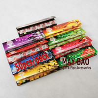 Wholesale 20 booklets of Cigarette Fruity Flavored Rolling Papers Tobacco Rolling Papers Nartual Gum Roll Your Own booklets