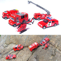 other other other Cars fire truck motorlaunch 5 piece set child alloy car model toy