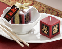 asian wedding favors - Double Happiness Keepsake Candle Asian Wedding Favors wedding favor party favors centerpieces giveaway accessories supplies