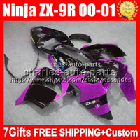 7gifts+ Custom For KAWASAKI NINJA ZX9R 00- 01 00 01 NEW Purple...