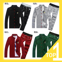 Wholesale 2013 New Men s Korean Style Stand Collar Thin Casual Sports Coat Sweat Suit Track Suit For Men M XXXL Multi Colors A4002