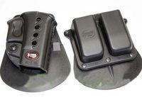 Fobus Evolution Holster RH Paddle GL- 2 ND For Glock 17 19 22...