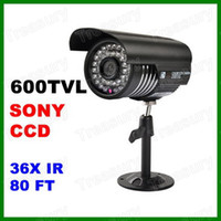 CCD Indoor 36 LED High Resolution 600TVL 1 3 Inch Color CCD Waterproof IR Day Night Surveillance CCTV Security Camera
