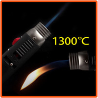 Wholesale HONEST Adjustable Flame Butane Gas Brazing Soldering Jet Cigarette Torch Lighter