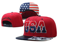 Wholesale Snap Mechanic - USA Snapbacks Snapback Hats USA National flag Color, Classical Snap Back,over 5000 styles Factory seller Hellosport86
