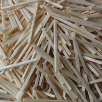 Wholesale 4000pcs mm natural Wooden sticks Match sticks Wood toys Early educational toys Freeshipping OEM