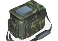 Wholesale Colorful luggage Bag Traval Bag with Solar Panel mAh Back up Battery great tool for fishing