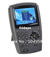 Wholesale 3 quot LCD Handheld Digital Satellite Signal Finder Meter DirecTV Dish FTA LNB Sat amp Drop Shipping