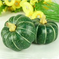 artificial pumpkin - Artificial pumpkin Teal pumpkin decoration fruit props cm
