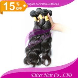Wholesale 15 OFF DHL Brazilian Virgin Remy Human Hairs Body Wave Weft Weave Elites Hair Queen Hair products g pc BH403