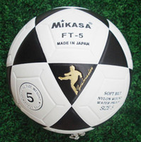 Footballs footballs - Mikasa FT Black and White Football Soccer Size