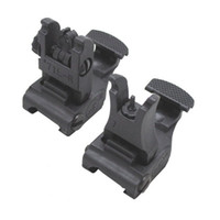 Wholesale 71L ARMS Polymer Front amp Rear Flip up Sight