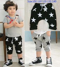 Wholesale 2014 Summer Baby Children Shorts Boys Star Printed Shorts Harem Pants Kids Clothing