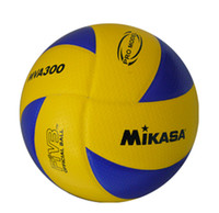 Wholesale MIKASA Volleyball PU Leather Soft Touch Offical Size MVA300
