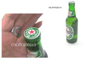 Wholesale 500PC DHL Stainless Steel Finger Ring Beer Bottle Opener mm mm mm mm