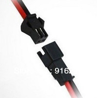 Wholesale 100pair pin led strip Male female Connector x cm Wire cable for single color strip light Lamp Driver