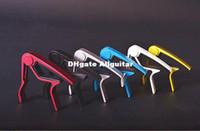 Wholesale 3pcs High Quality Aluminium Alloy Guitar Capo for Acoustic Electric Guitars Trigger Quick Change Key