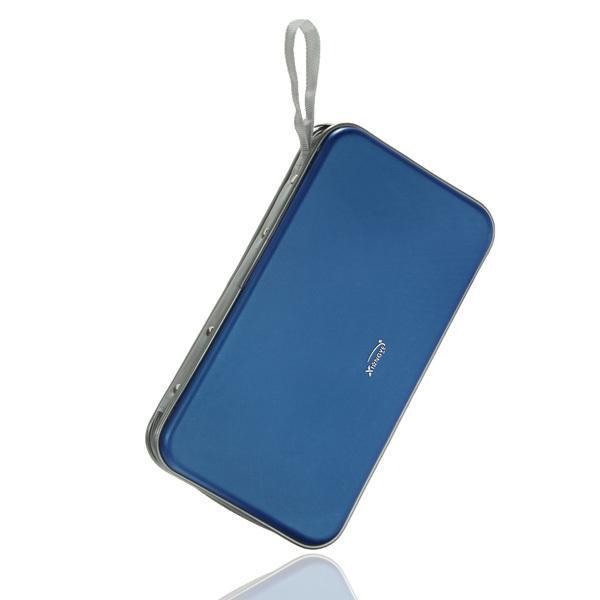 2017 new design color blue portable 80 disc cd dvd dj carry cover bag case wallet storage - Porta cd design ...