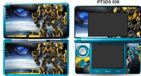 Wholesale RETAIL SELL TRANSFORMERS VINYL STICKER DECAL COVER SKIN FOR DS CONSOLE DECORATIONS FOR BOYS